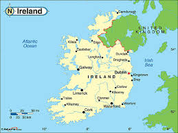 Map Of Ireland With Major Cities.Geogrophy Of Ireland Jasyn Perkins Imani Hibbert Per 4 Semester 1